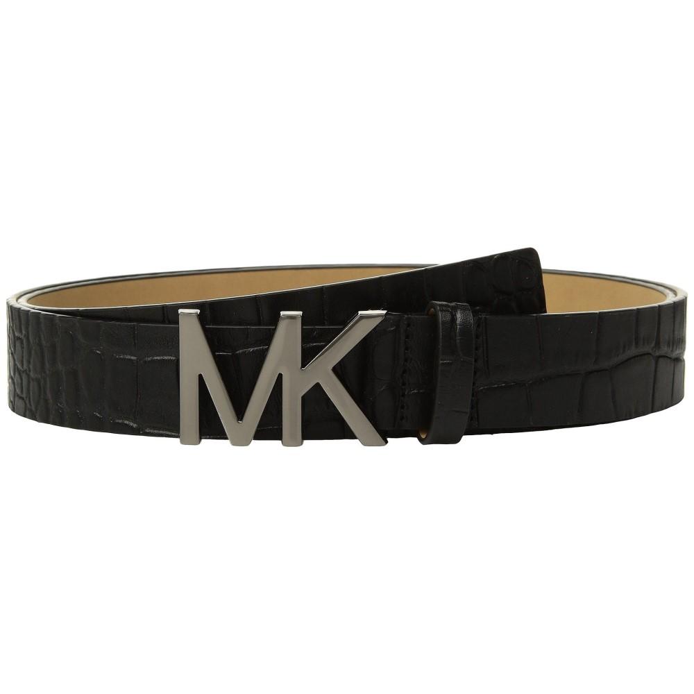 マイケル コース レディース ベルト【Croc Logo Belt】Black