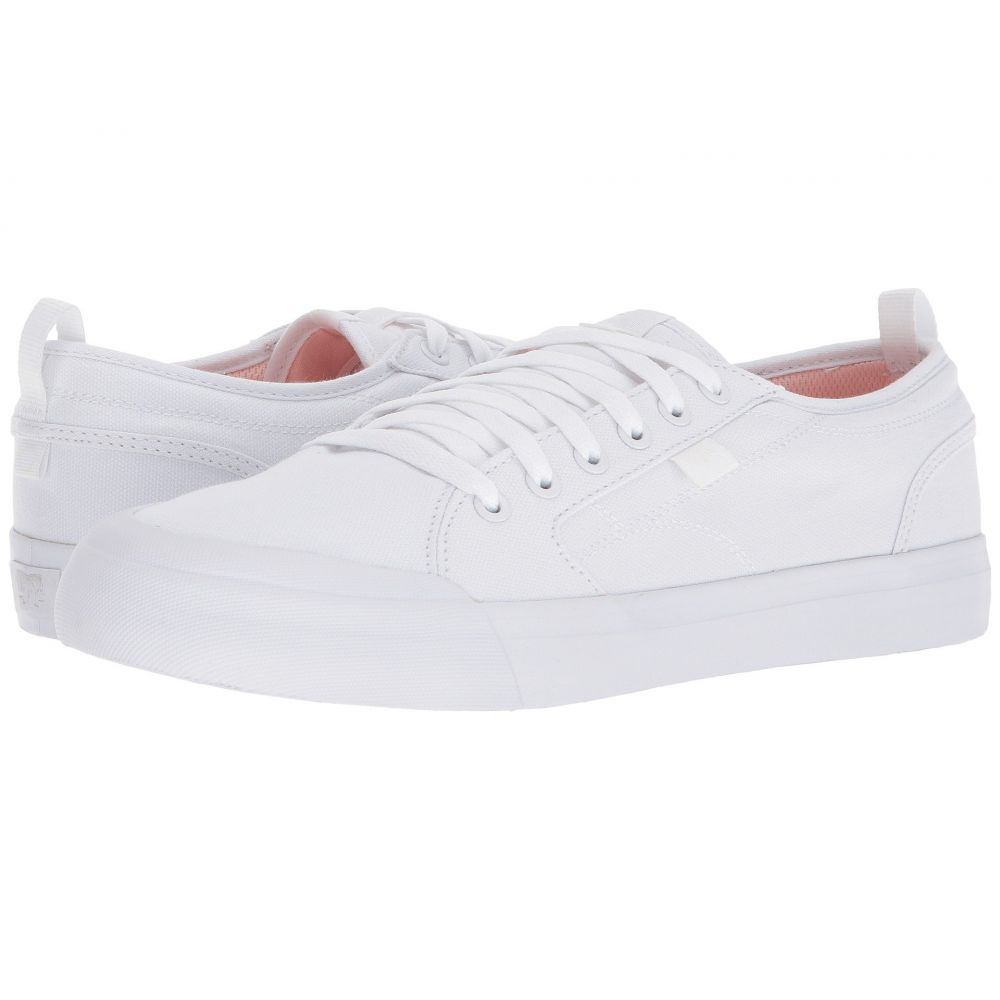 ディーシー メンズ シューズ・靴【Evan Smith TX】White/Pink
