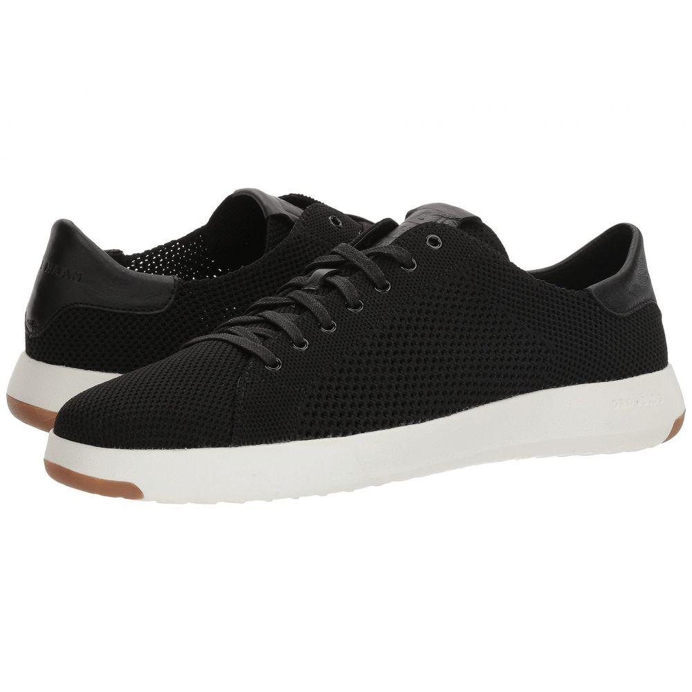 コールハーン メンズ テニス シューズ・靴【Grandpro Tennis Stitchlite】Black/Black/Optic White