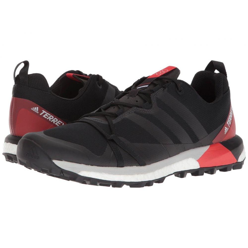 アディダス メンズ ランニング・ウォーキング シューズ・靴【Terrex Agravic】Black/Carbon/Hi-Res Red