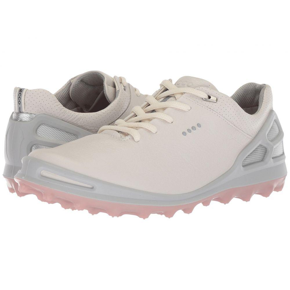 エコー レディース ゴルフ シューズ・靴【Cage Pro GTX】White/Silver Pink