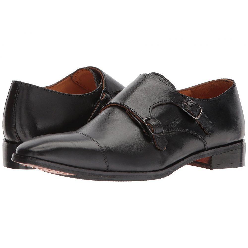 カルロスサンタナ メンズ シューズ・靴 革靴・ビジネスシューズ【Passion】Black Full Grain Calfskin Leather