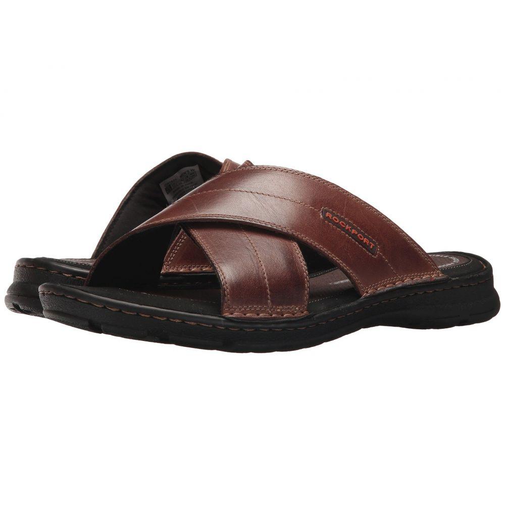 ロックポート メンズ シューズ・靴【Darwyn Cross Band】Coach Brown Leather