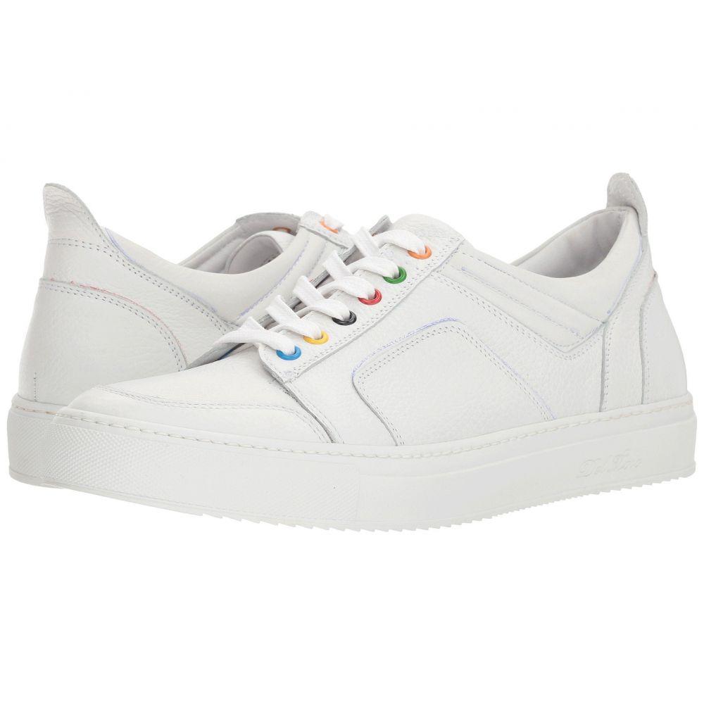 デル トロ メンズ シューズ・靴 スニーカー【Low Top Boxing Sneaker】White
