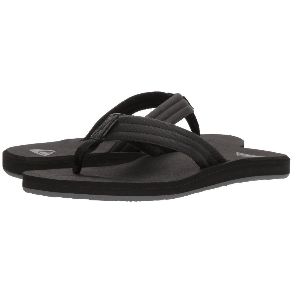 クイックシルバー メンズ シューズ・靴【Carver Tropics】Black/Black/Grey