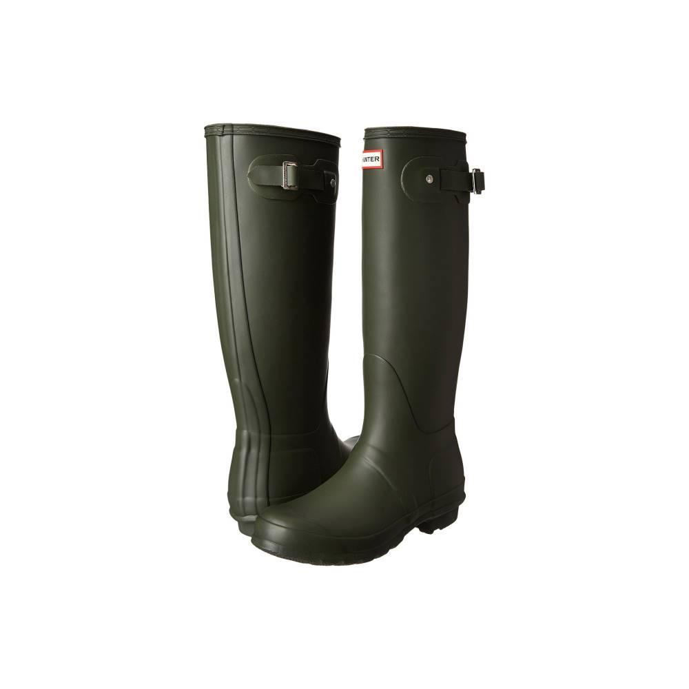 ハンター レディース シューズ・靴 レインシューズ・長靴【Original Tall Rain Boots】Dark Olive