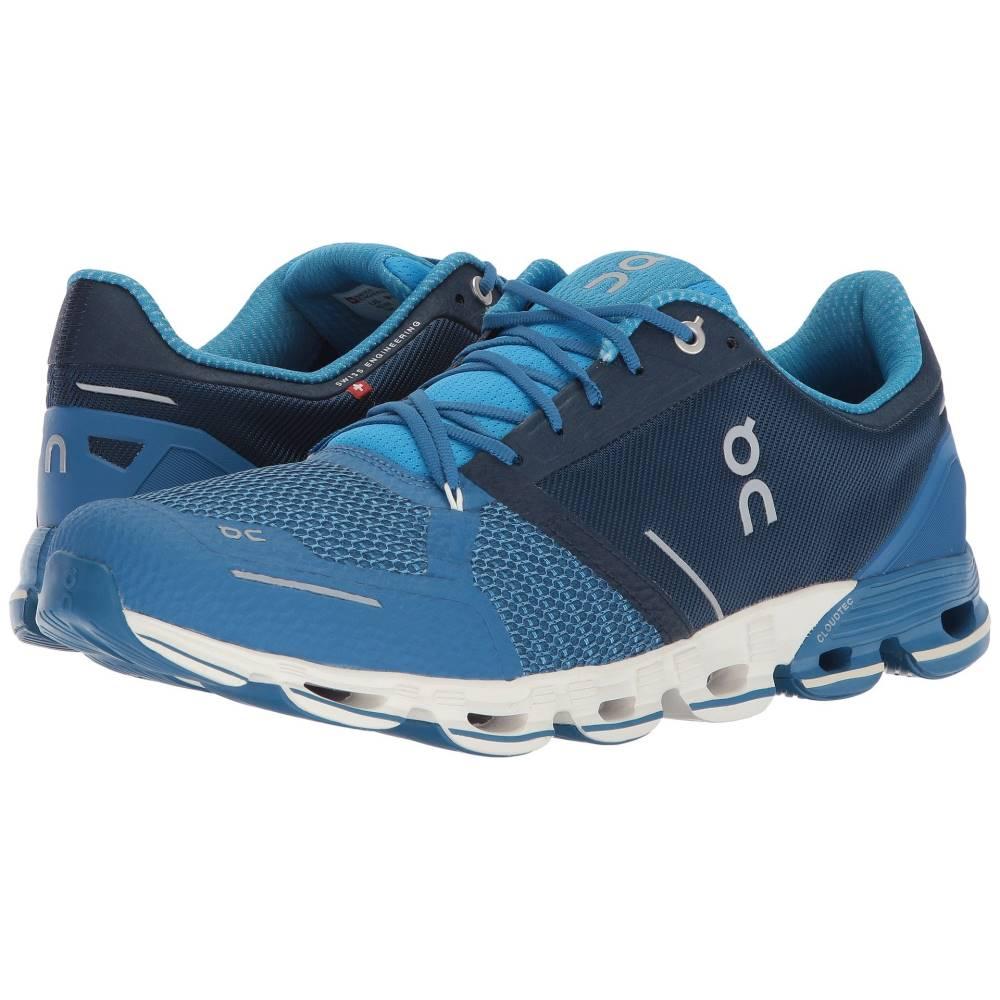 オン メンズ ランニング・ウォーキング シューズ・靴【Cloudflyer】Blue/White
