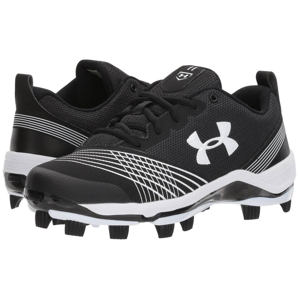 アンダーアーマー レディース 野球 シューズ・靴【UA Glyde TPU】Black/White