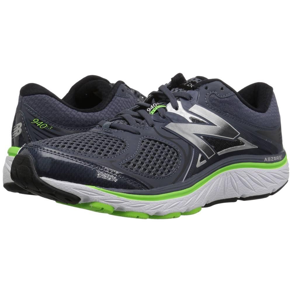 ニューバランス メンズ ランニング・ウォーキング シューズ・靴【940v3】Thunder/Energy Lime