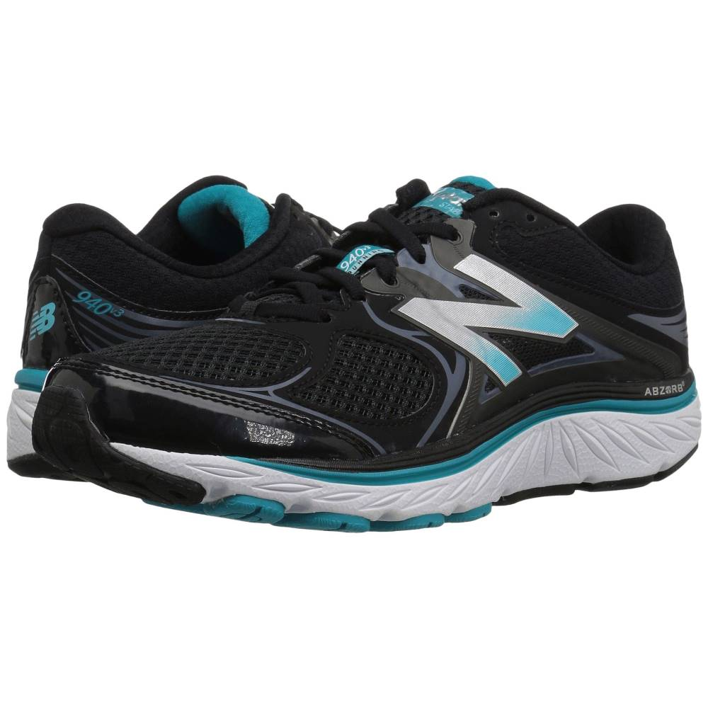 ニューバランス レディース ランニング・ウォーキング シューズ・靴【W940v3】Black/Pisces/Thunder
