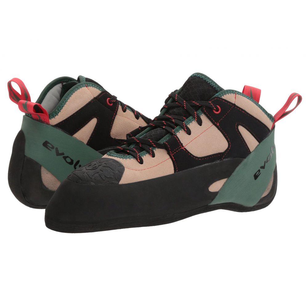 イボルブ メンズ クライミング シューズ・靴【The General】Tan/Army Green