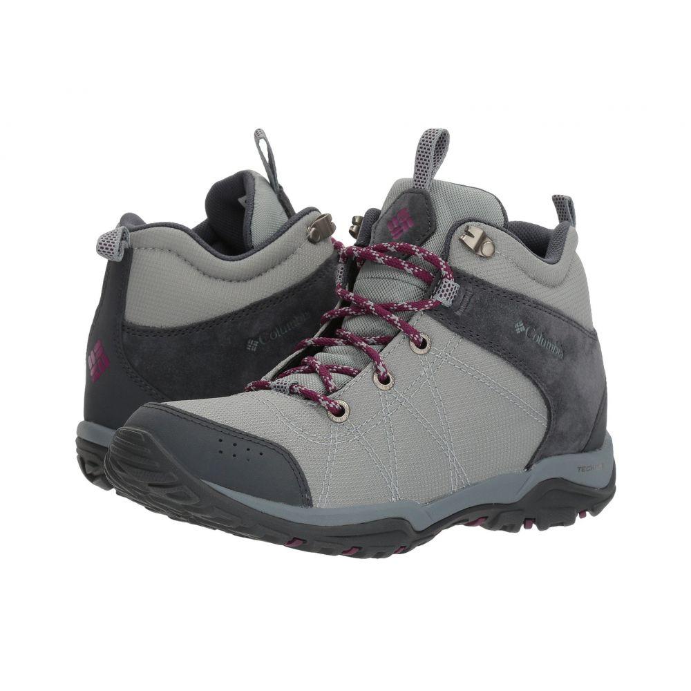 華麗 コロンビア レディース ハイキング・登山 Raspberry シューズ・靴 Grey/Dark【Fire Venture Mid コロンビア Textile】Earl Grey/Dark Raspberry, ゴルフシティアルド:9b5ca091 --- retedifamiglie.it