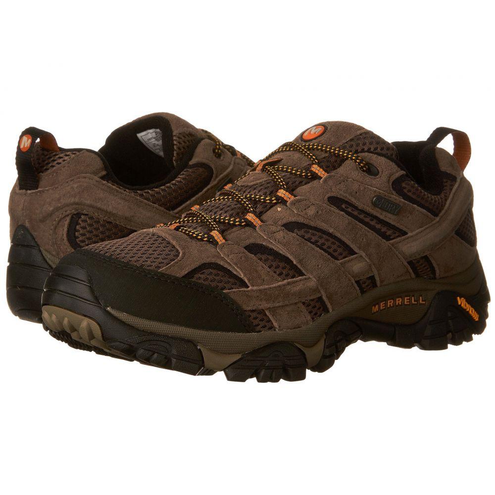 超ポイントアップ祭 メレル メンズ ハイキング・登山 シューズ・靴【Moab 2 Waterproof】Walnut, サッカー問屋 fd17ea06