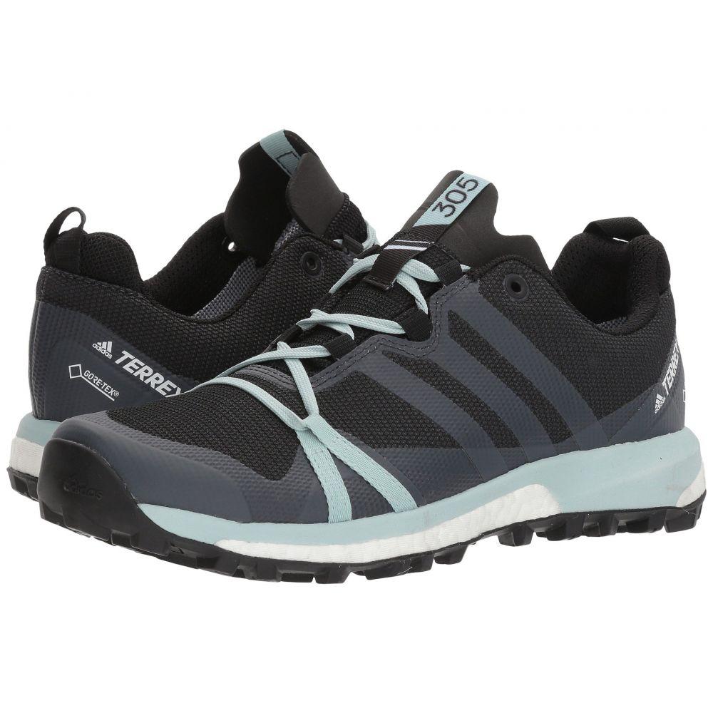 アディダス レディース ランニング・ウォーキング シューズ・靴【Terrex Agravic GTX】Carbon/Grey Three/Ash Green