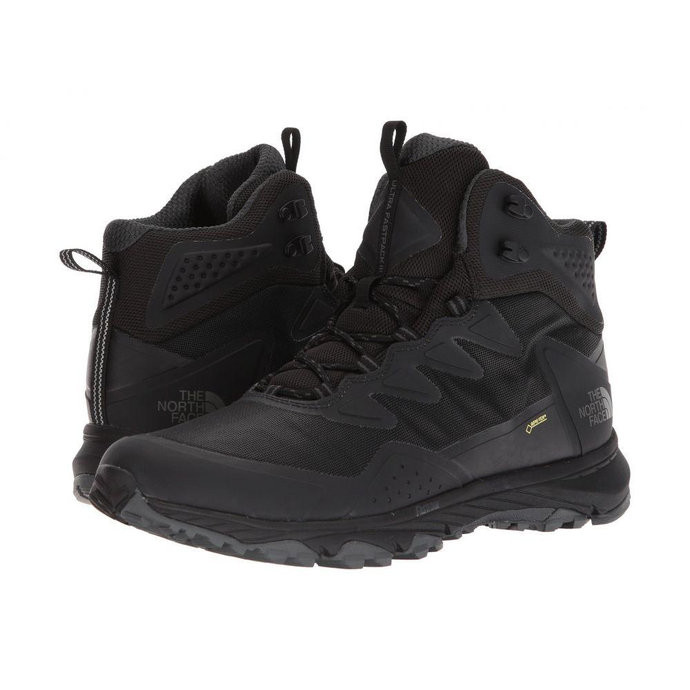 ザ ノースフェイス メンズ ハイキング・登山 シューズ・靴【Ultra Fastpack III Mid GTX】TNF Black/TNF Black