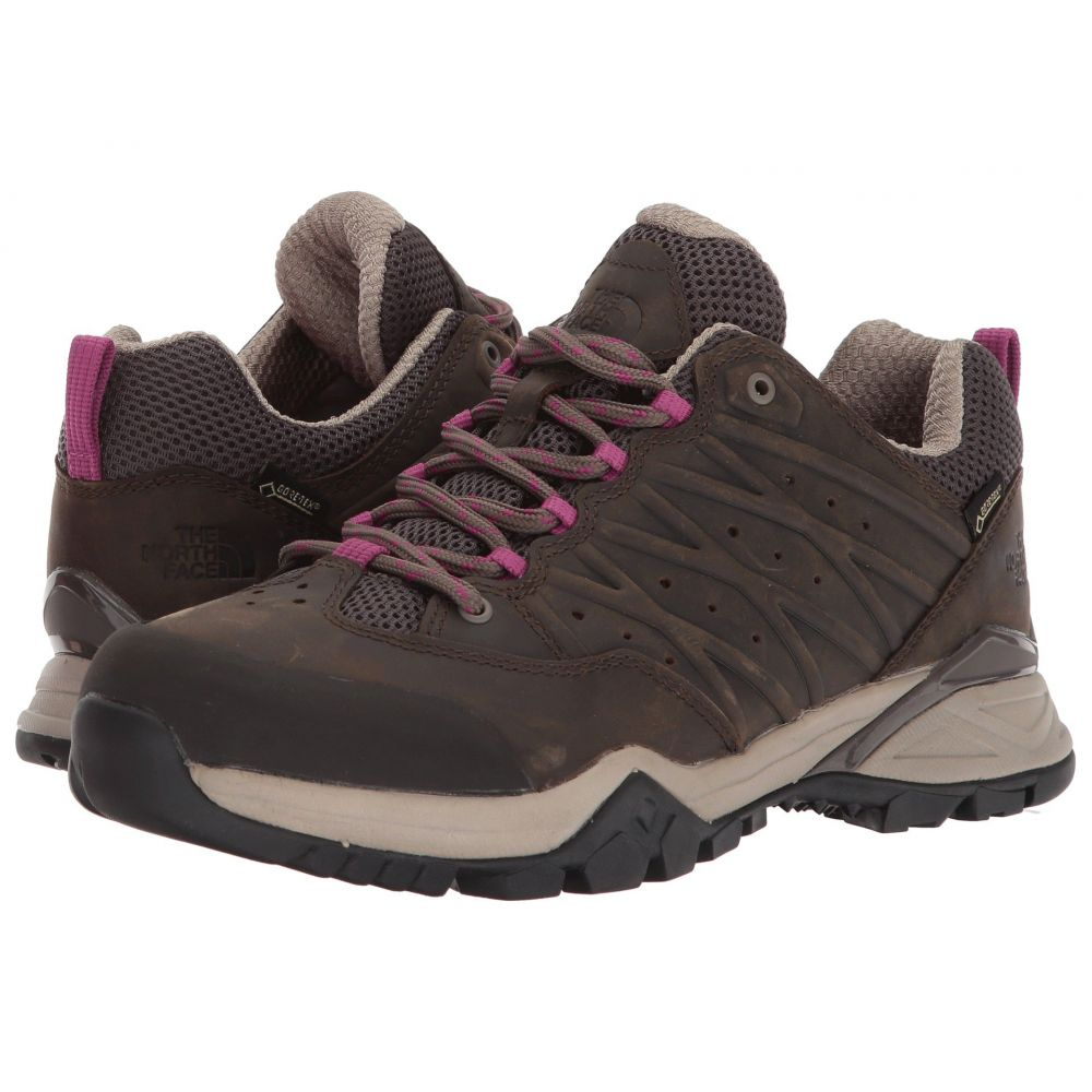 ザ ノースフェイス レディース ハイキング・登山 シューズ・靴【Hedgehog Hike II GTX】Bone Brown/Wild Aster Purple