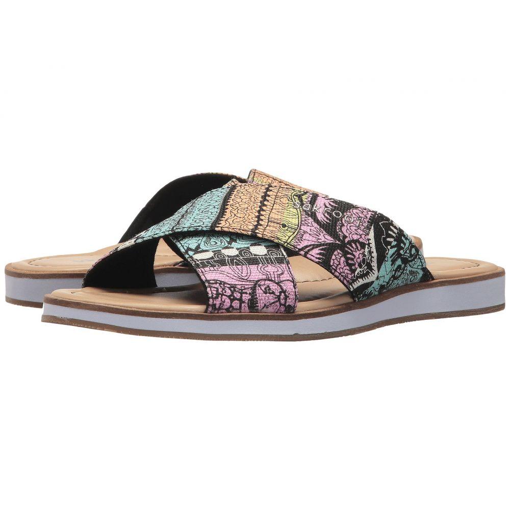 サックルーツ レディース シューズ・靴 ビーチサンダル【Calypso Flip-Flop】Sherbet One World