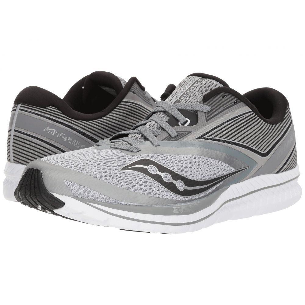 サッカニー メンズ ランニング・ウォーキング シューズ・靴【Kinvara 9】Grey/Black