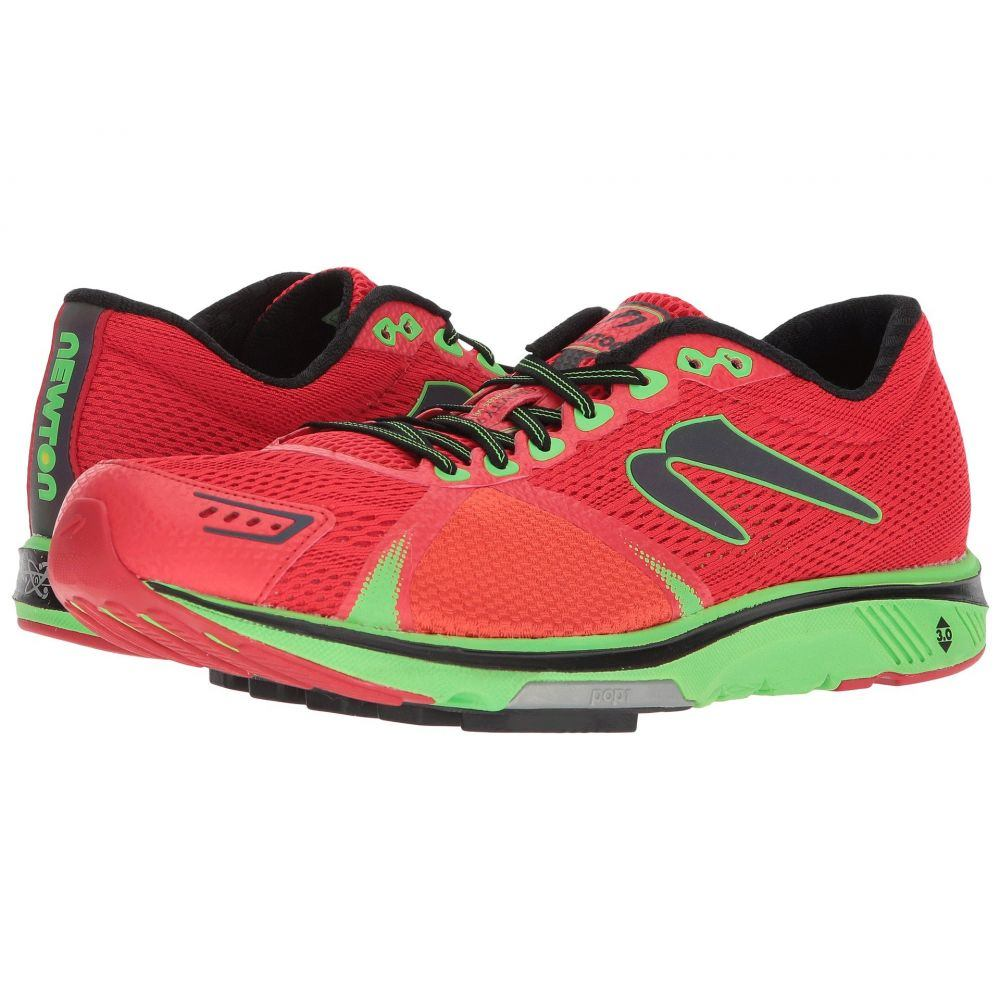 【在庫僅少】 ニュートンランニング メンズ ランニング・ウォーキング シューズ・靴【Gravity 7 7】Red/Lime】Red メンズ/Lime, 西有田町:97f43d1a --- canoncity.azurewebsites.net