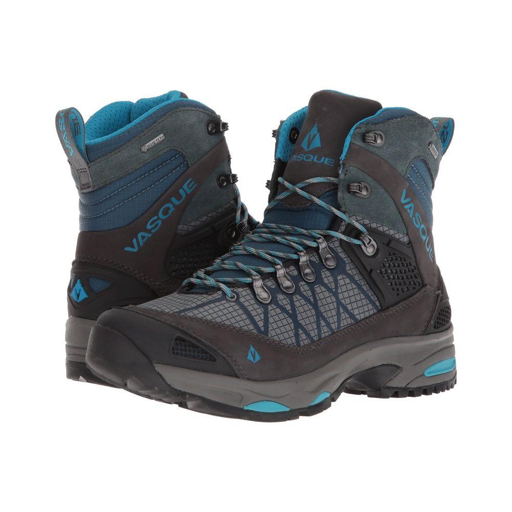 バスク レディース ハイキング・登山 シューズ・靴【Saga GTX】Dark Slate/Majolica Blue