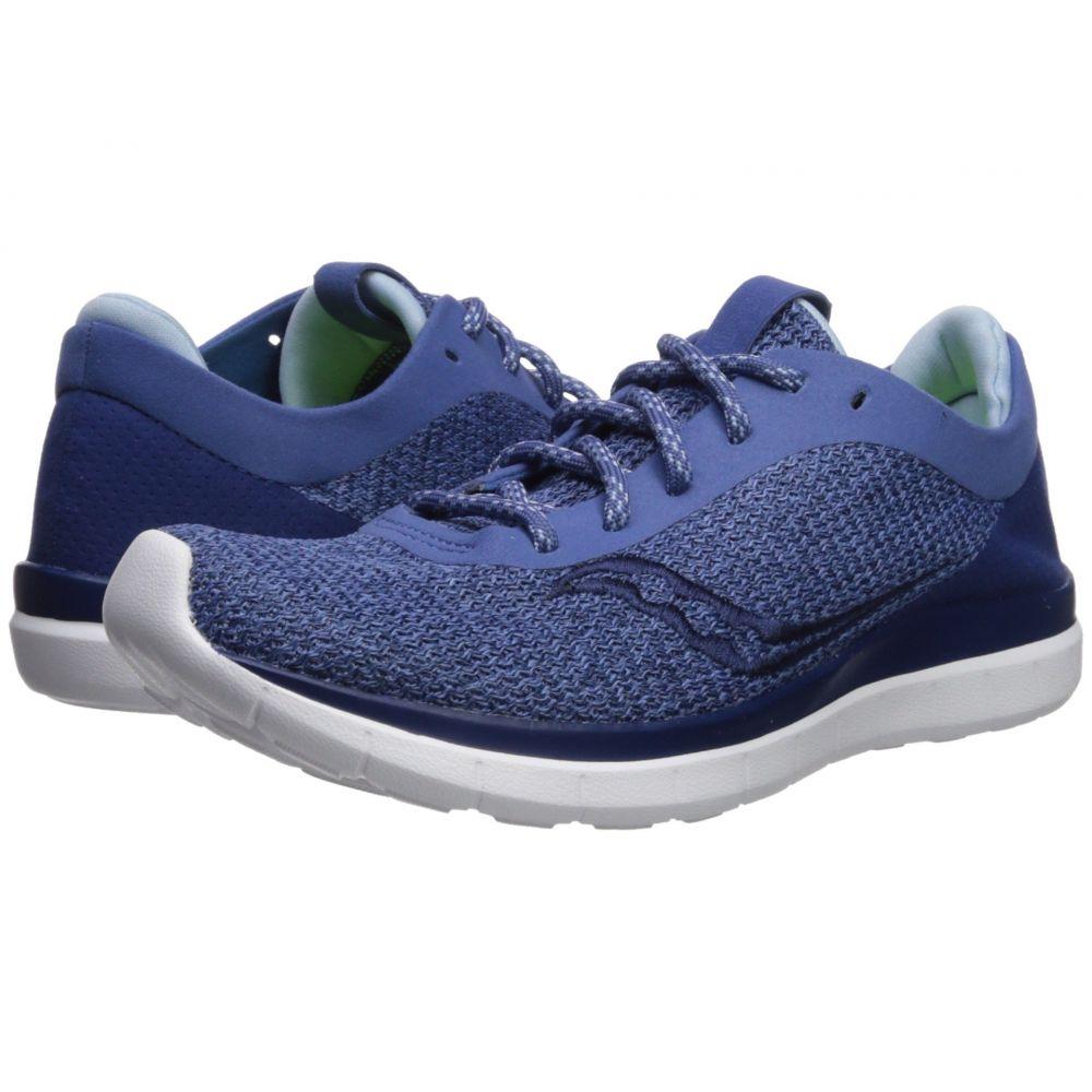 サッカニー レディース ランニング・ウォーキング シューズ・靴【Liteform Escape】Blue