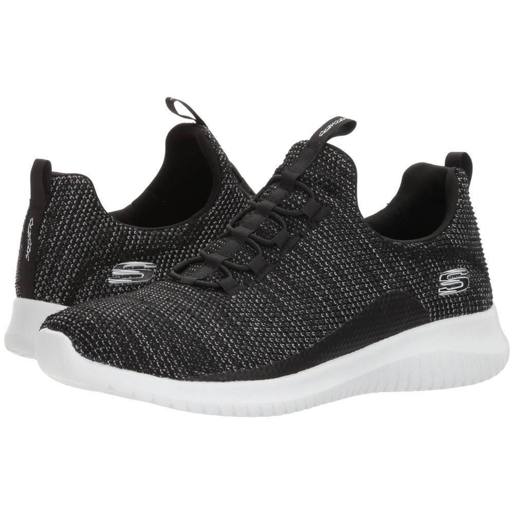 スケッチャーズ レディース シューズ・靴 スニーカー【Ultra Flex - Capsule】Black/White