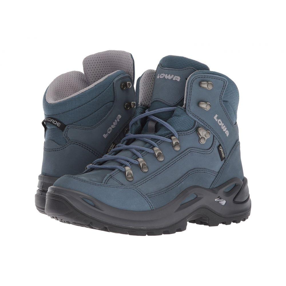 ロワ レディース ハイキング・登山 シューズ・靴【Renegade GTX Mid】Gray/Blue