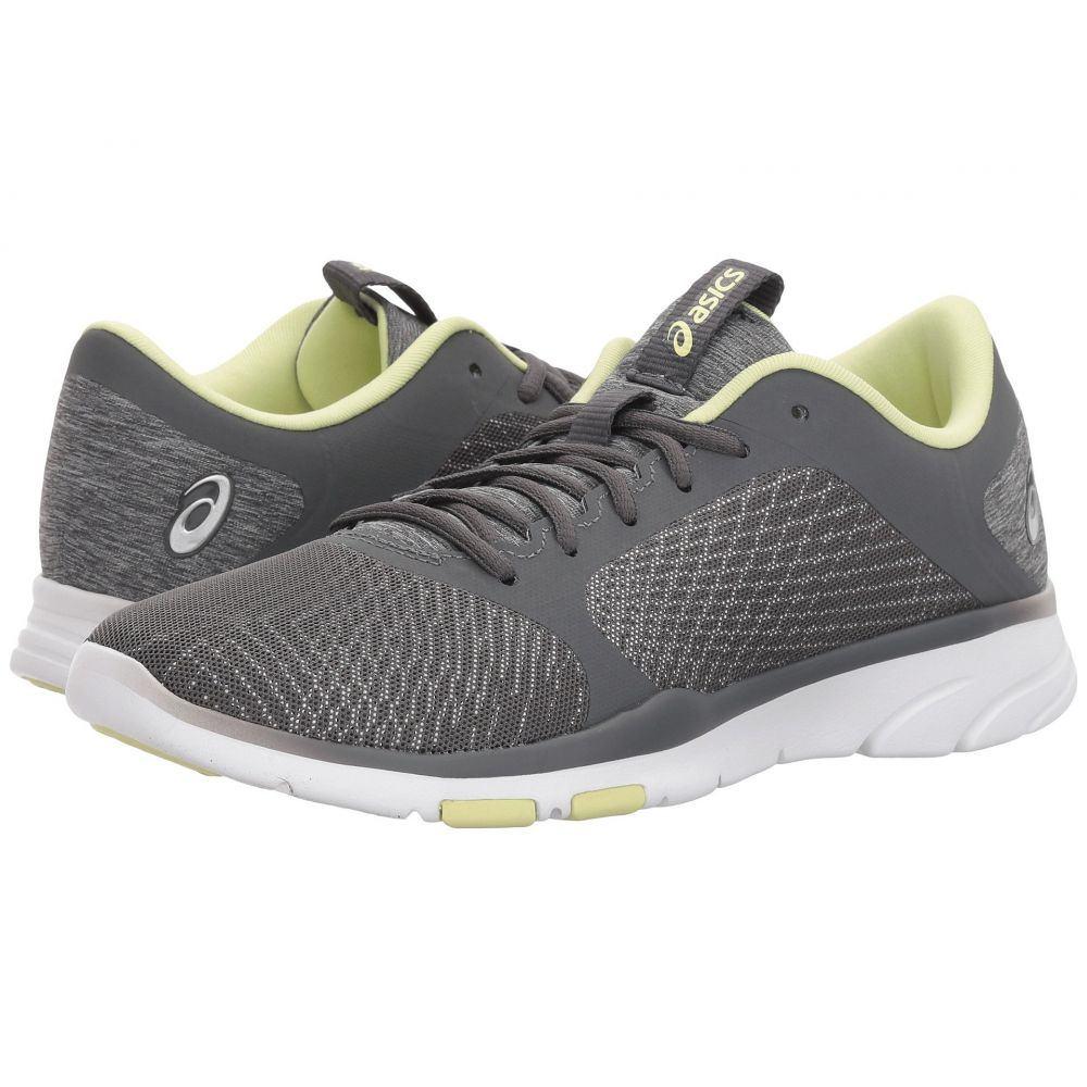 アシックス レディース フィットネス・トレーニング シューズ・靴【Gel-Fit Tempo 3】Carbon/Limelight/Silver