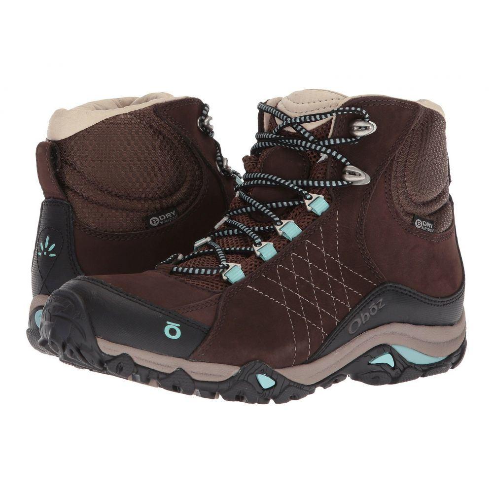 オボズ レディース ハイキング・登山 シューズ・靴【Sapphire Mid BDry】Java