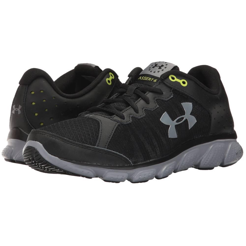 アンダーアーマー メンズ ランニング・ウォーキング シューズ・靴【UA Freedom Assert VI】Black/Steel/Steel
