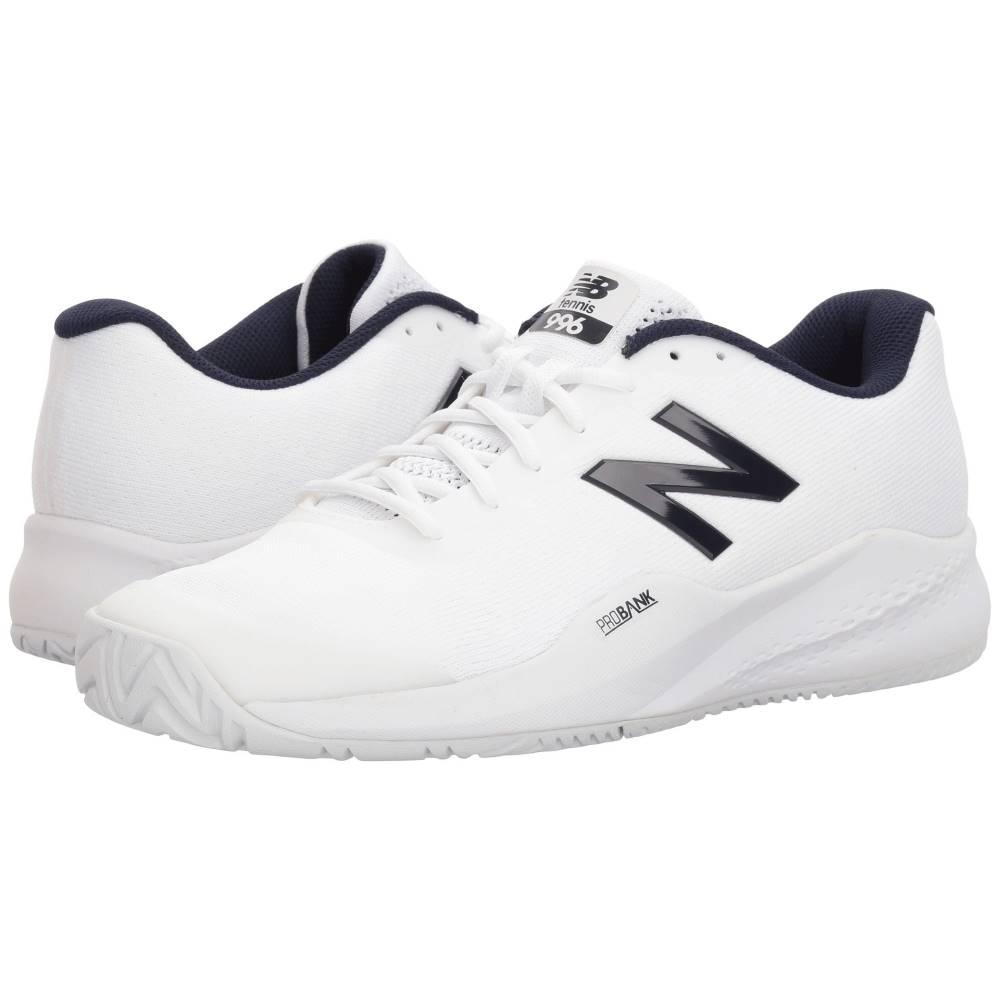 ニューバランス メンズ テニス シューズ・靴【996v3】White/White
