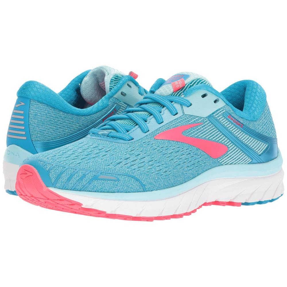 ブルックス レディース ランニング・ウォーキング シューズ・靴【Adrenaline GTS 18】Blue/Mint/Pink