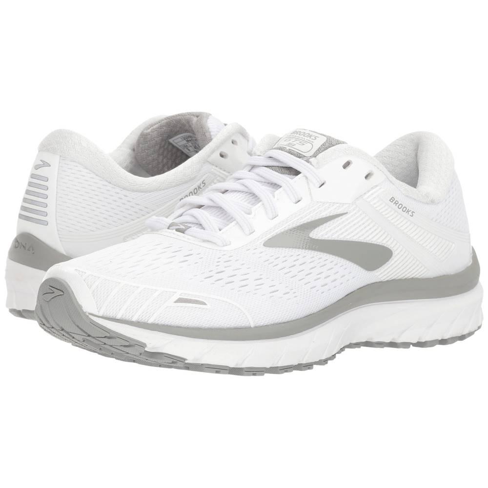ブルックス レディース ランニング・ウォーキング シューズ・靴【Adrenaline GTS 18】White/White/Grey