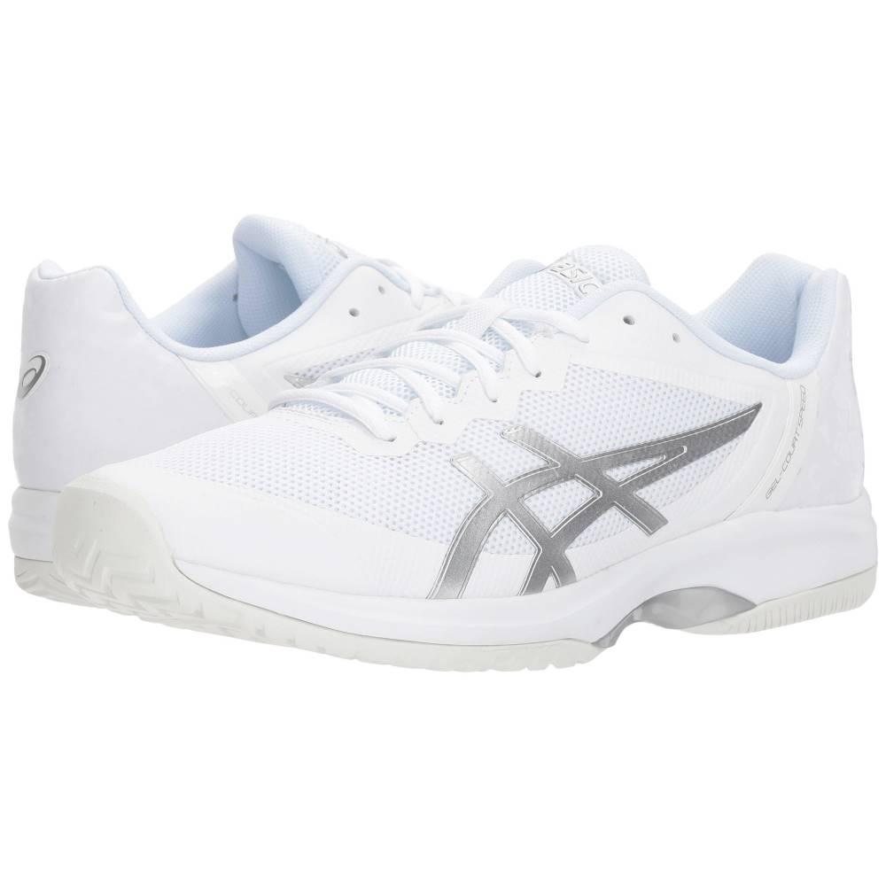 アシックス メンズ テニス シューズ・靴【Gel-Court Speed】White/Silver