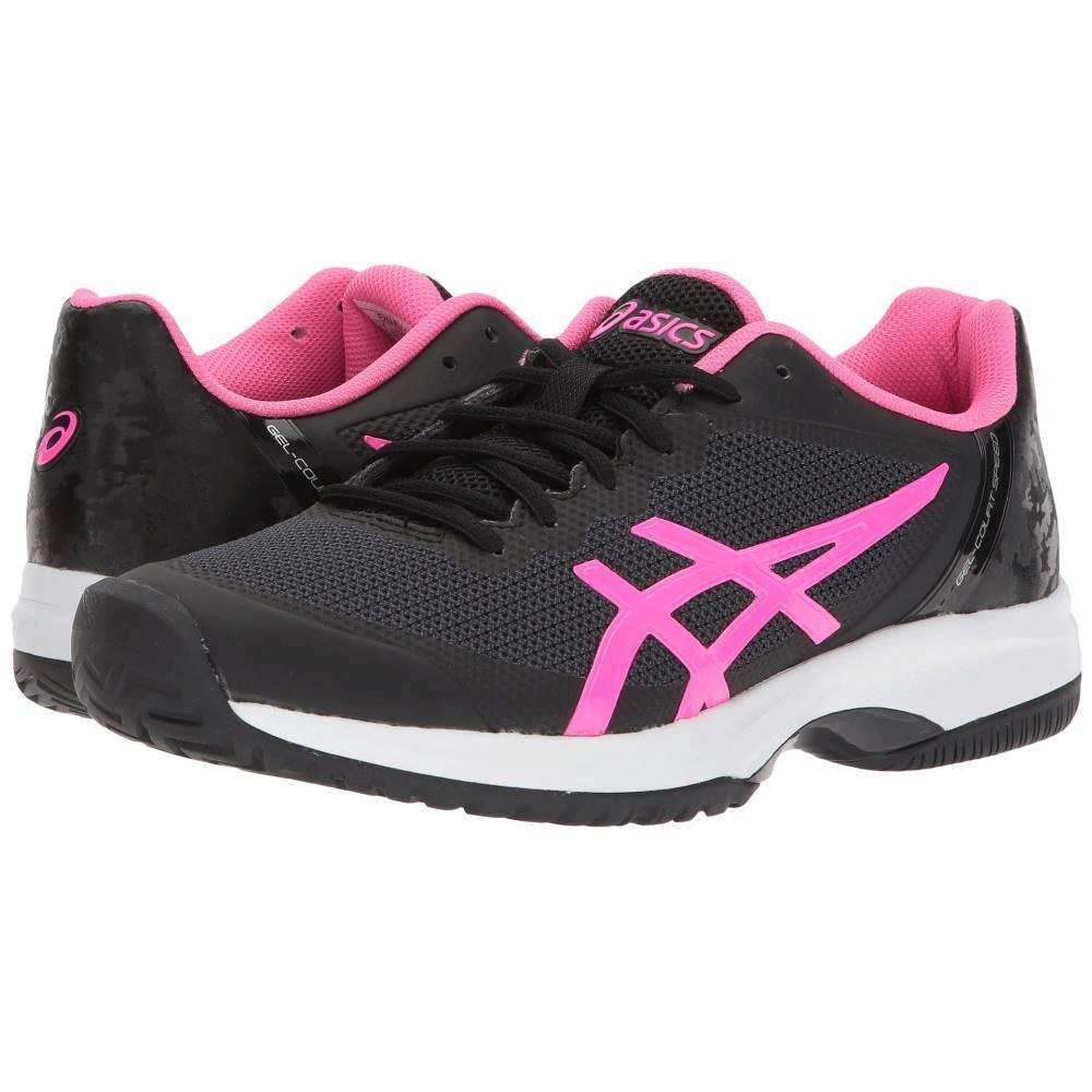 アシックス レディース テニス シューズ・靴【Gel-Court Speed】Black/Hot Pink/White