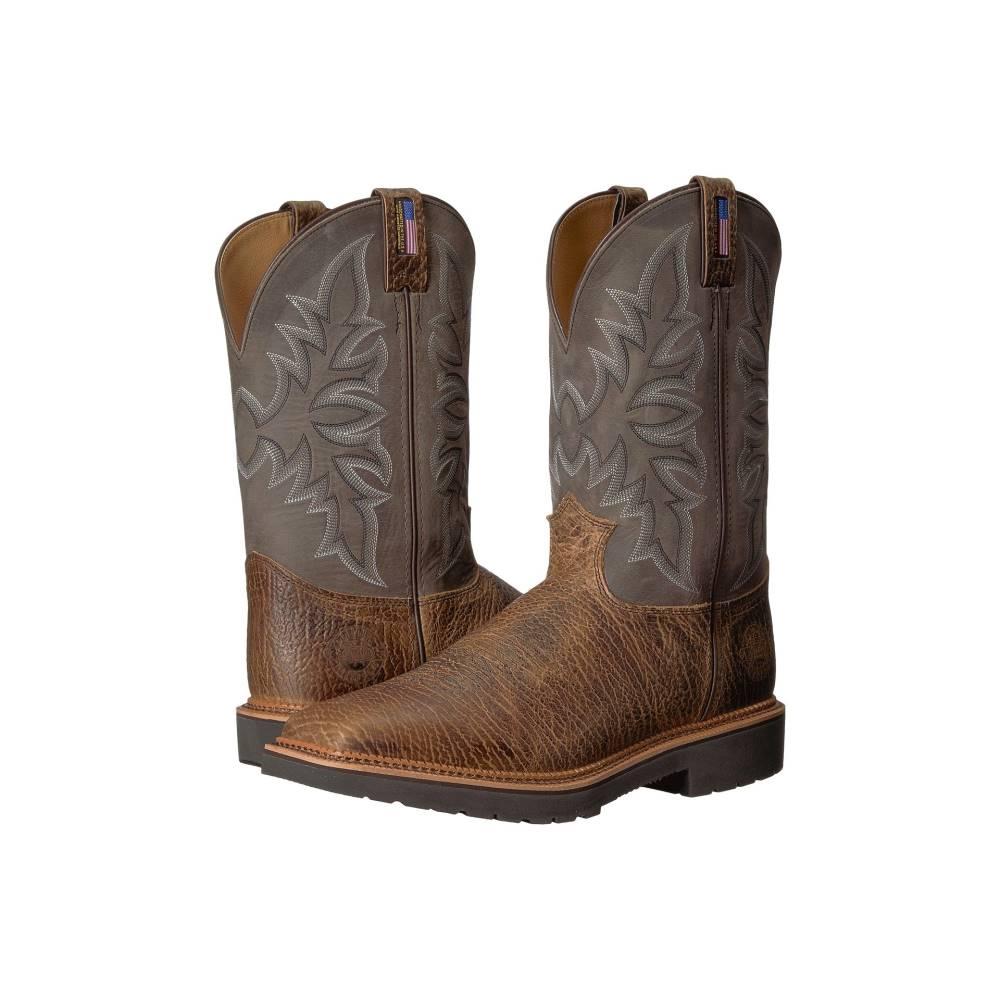 ジャスティン メンズ シューズ・靴 ブーツ【Scottsbluff Soft Toe】Cimarron Apache/Grey
