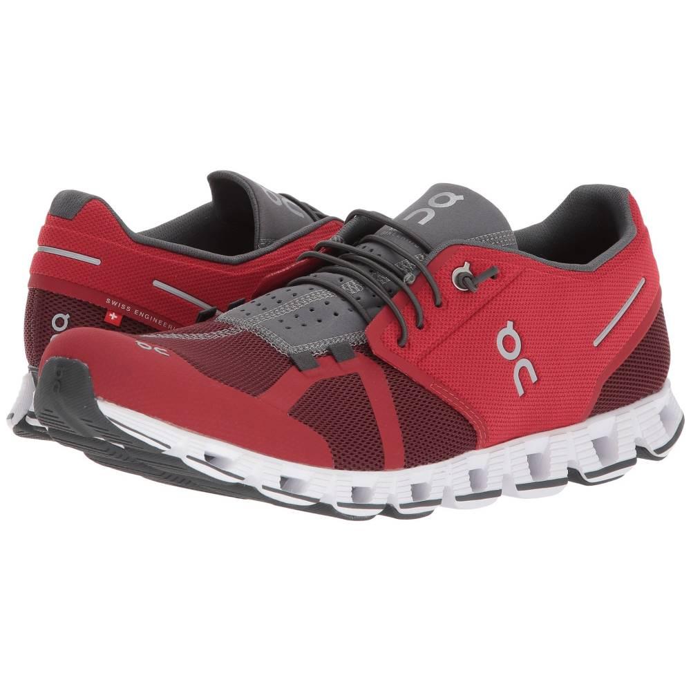 オン メンズ ランニング・ウォーキング シューズ・靴【Cloud 2.0】Red/OX