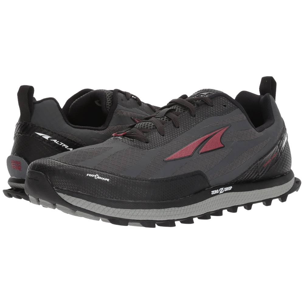 アルトラ メンズ ランニング・ウォーキング シューズ・靴【Superior 3.5】Black/Red