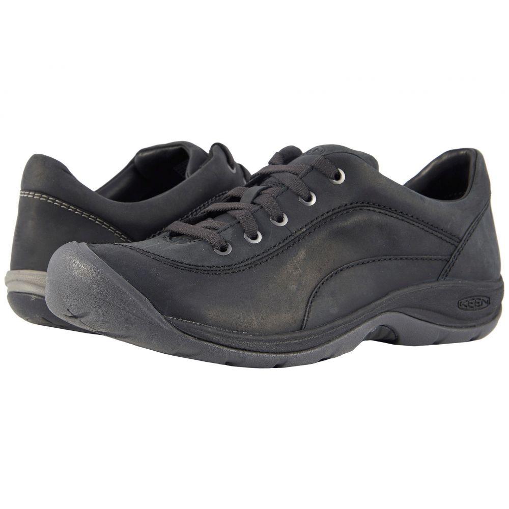 キーン レディース シューズ・靴 スニーカー【Presidio II】Black/Steel Grey