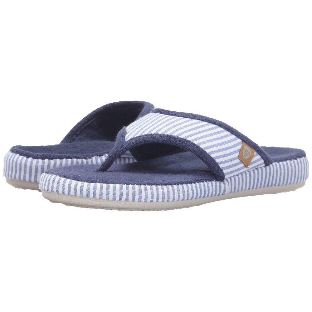 エーコーン レディース シューズ・靴 ビーチサンダル【Thong Summerweight】Blue Stripe