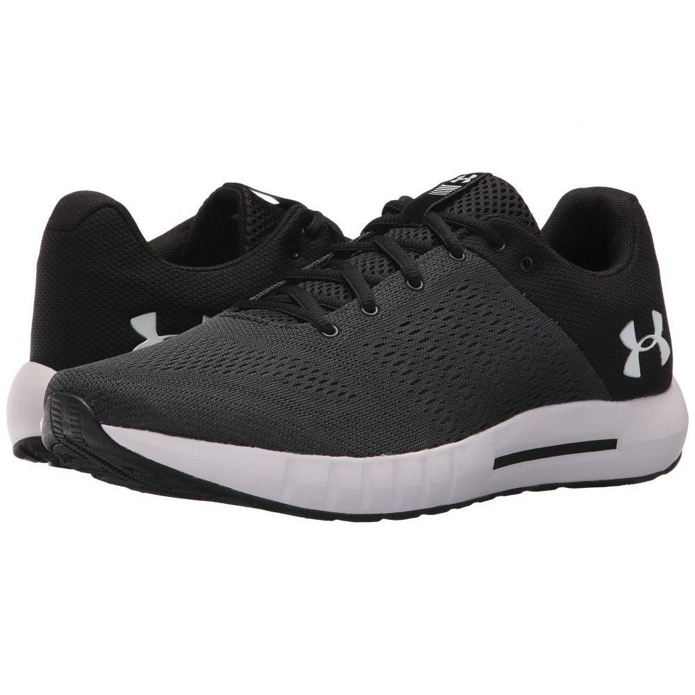 アンダーアーマー メンズ ランニング・ウォーキング シューズ・靴【UA Micro G Pursuit】Anthracite/Black/White