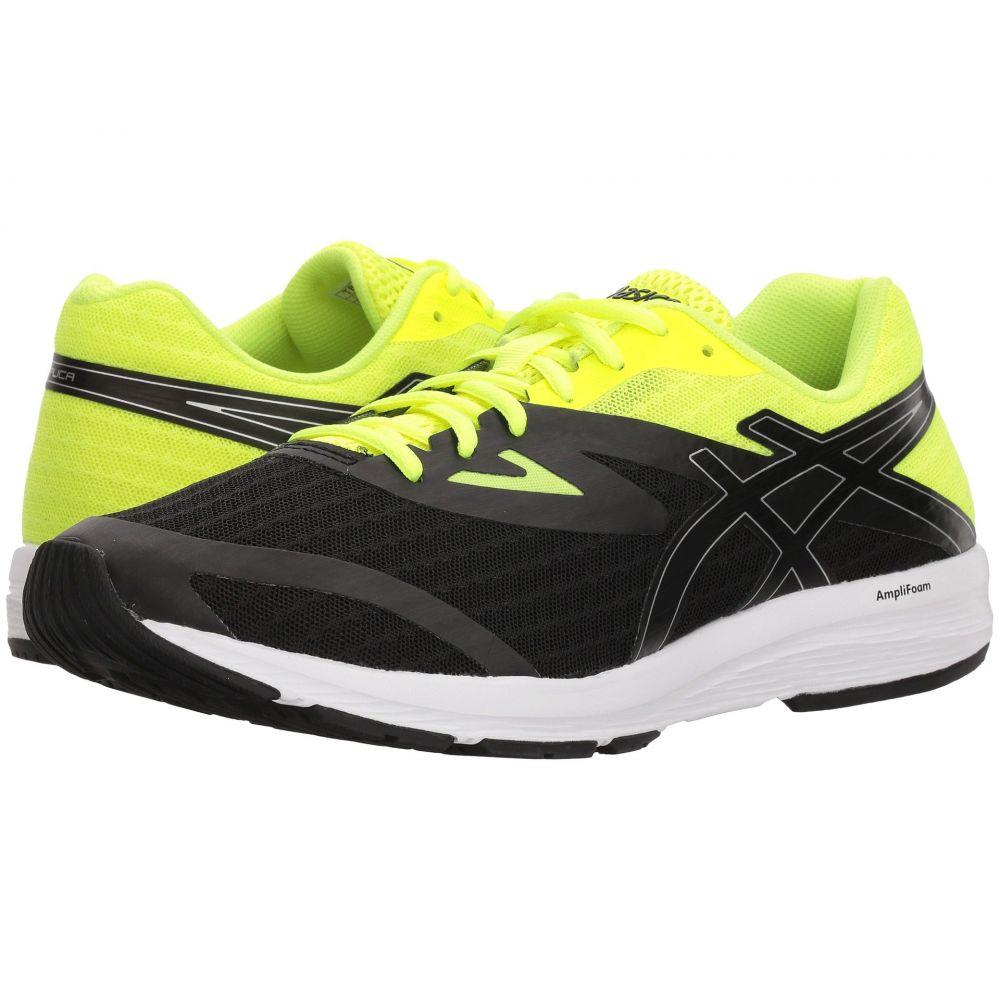 アシックス メンズ ランニング・ウォーキング シューズ・靴【Amplica】Black/Silver/Safety Yellow