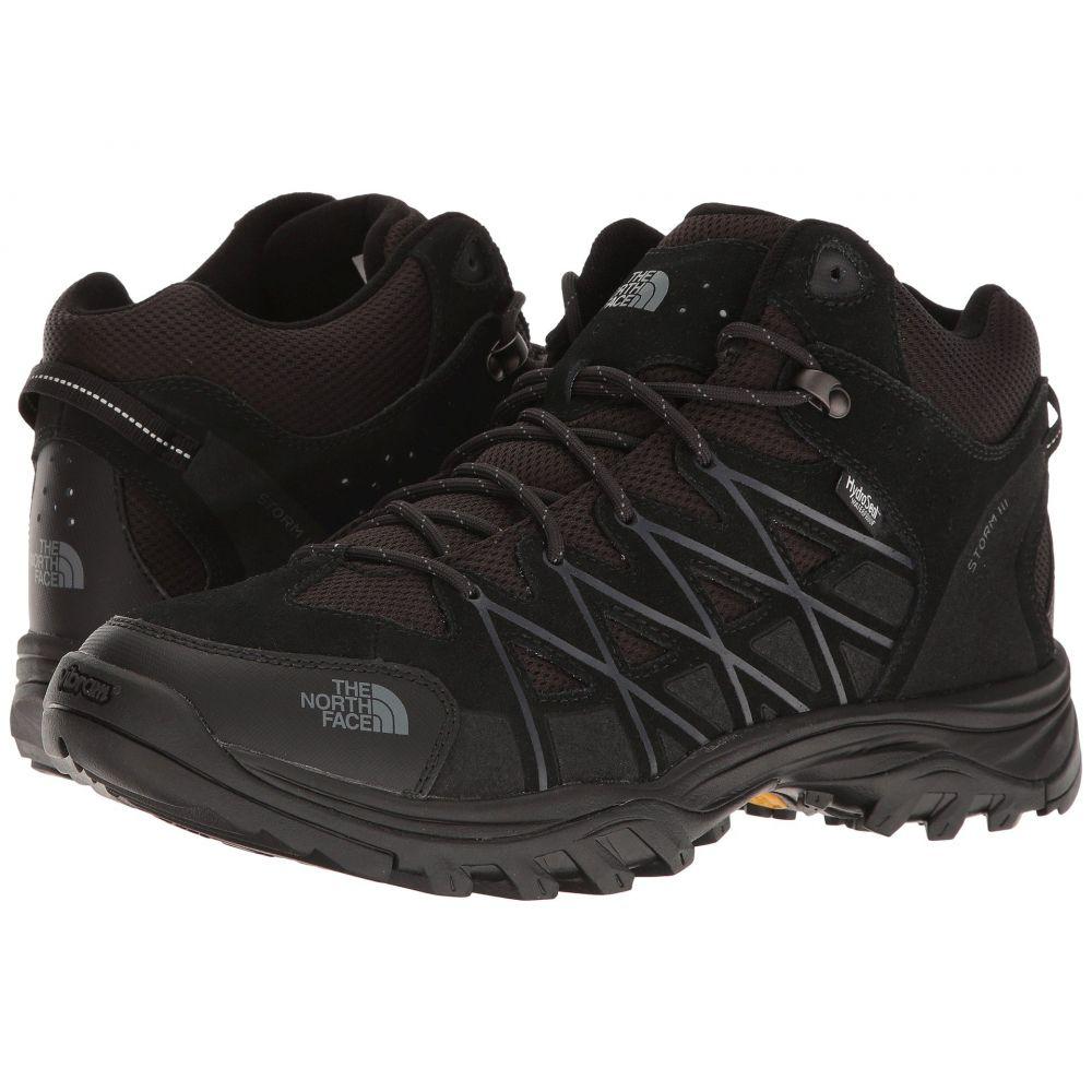 ザ ノースフェイス メンズ ハイキング・登山 シューズ・靴【Storm III Mid WP】TNF Black/Phantom Grey