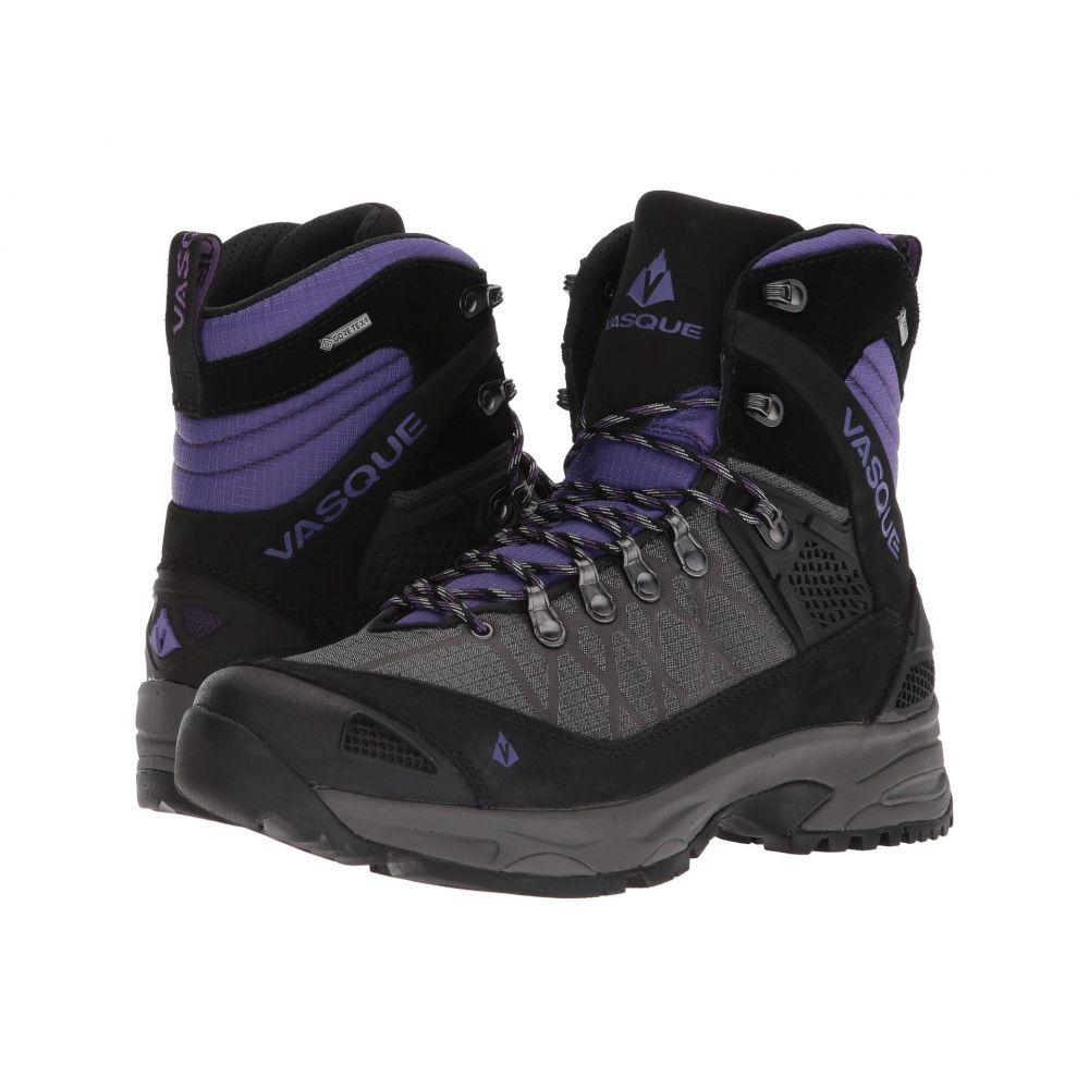 バスク レディース ハイキング・登山 シューズ・靴【Saga GTX】Blackberry/Ultra Violet