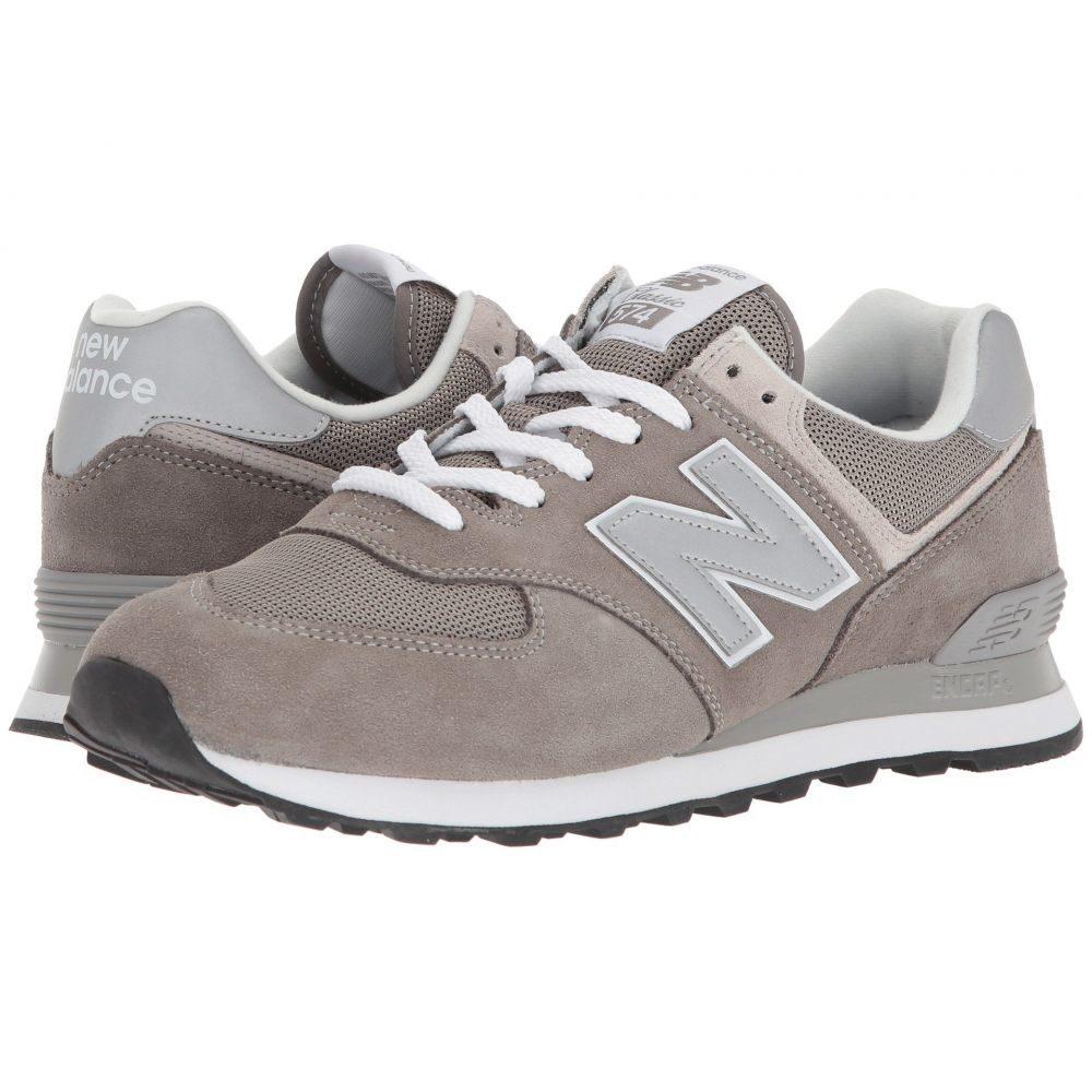 ニューバランス メンズ シューズ・靴【ML574v2】Grey/Grey