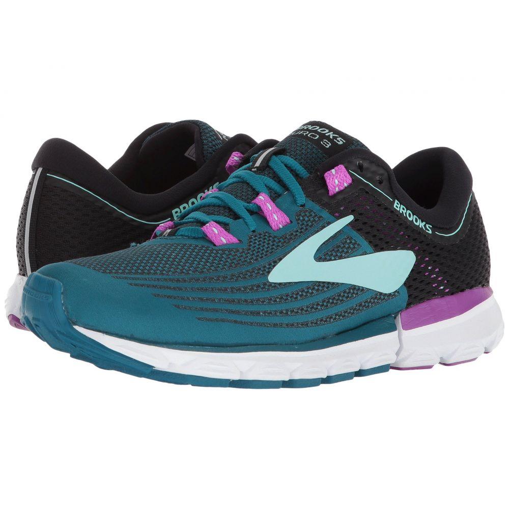 ブルックス レディース ランニング・ウォーキング シューズ・靴【Neuro 3】Lagoon/Black/Purple