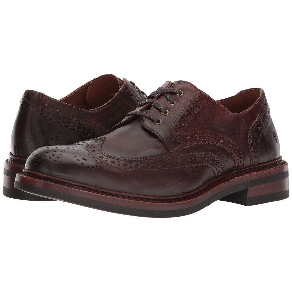 フライ メンズ シューズ・靴 革靴・ビジネスシューズ【Graham Wingtip】Cognac Pull Up Leather