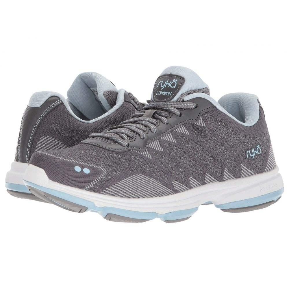 ライカ レディース フィットネス・トレーニング Blue/Chrome シューズ Grey/Soft・靴【Dominion】Frost Grey レディース/Soft Blue/Chrome Silver, イワフネマチ:9be510fb --- municipalidaddeprimavera.cl
