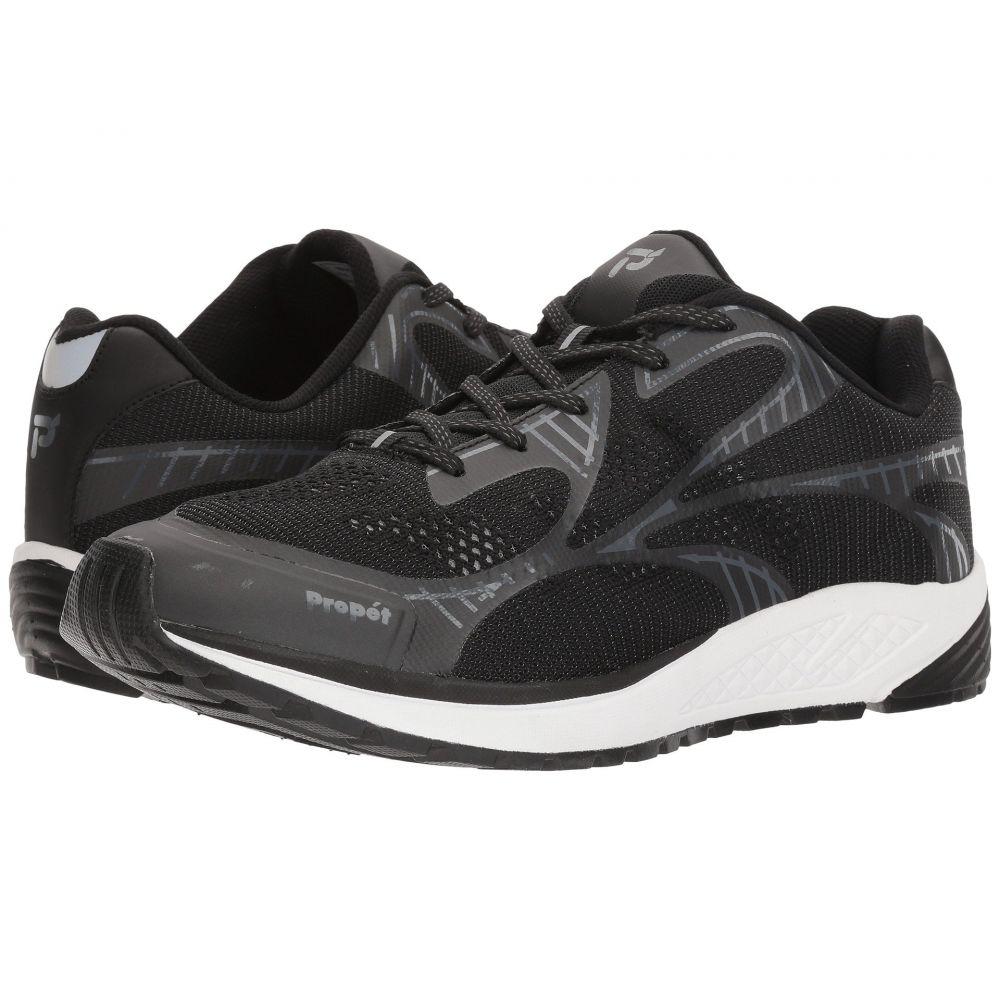 プロペット メンズ シューズ・靴 スニーカー【Propet One】Black/Grey
