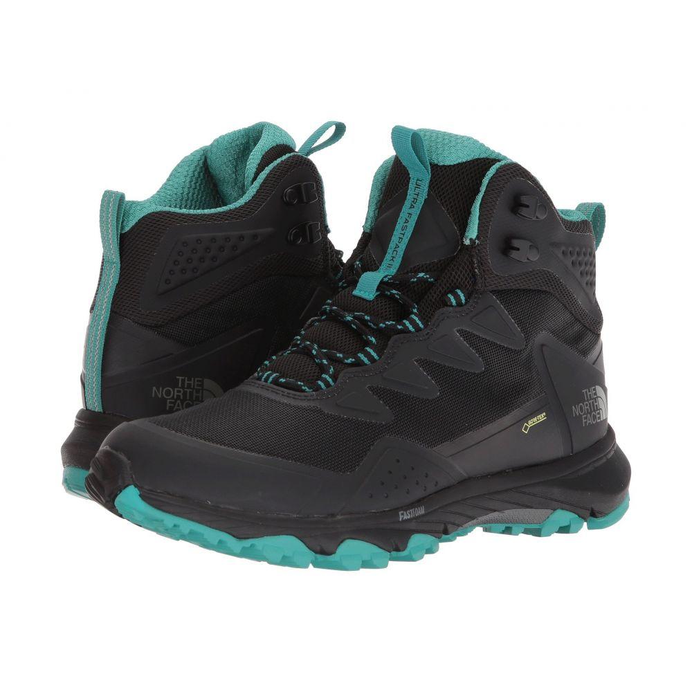 ザ ノースフェイス レディース ハイキング・登山 シューズ・靴【Ultra Fastpack III Mid GTX】TNF Black/Porcelain Green